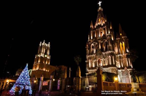 New Years Eve in San Miguel de Allende, Mexico