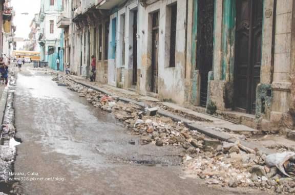 Typical Havana Side Street