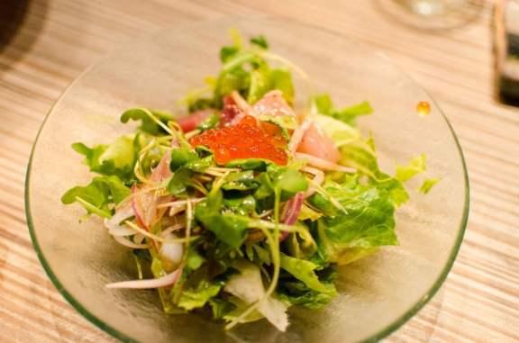 Seafood Green Salad