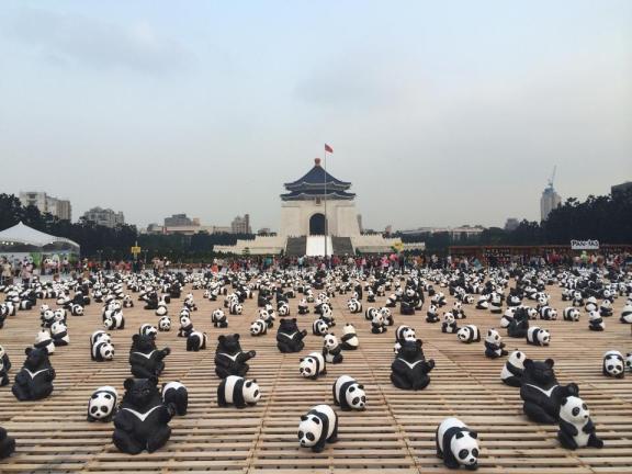 Panda Exhibit at CKS Memorial Hall, Taipei, Taiwan