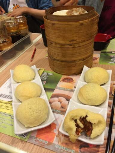 The Famous Him To Wan Pork buns