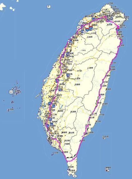 The Ride Around Taiwan