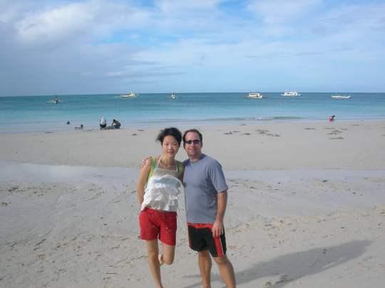 Beach Time in Palau