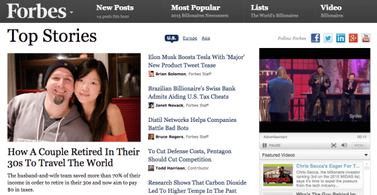 Top Story on Forbes (and Yahoo, MSN, & More)