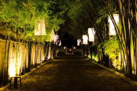 Tamarind Village Hotel Driveway