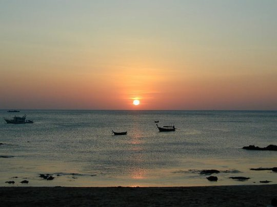Koh Lanta Sunset (photo credit)