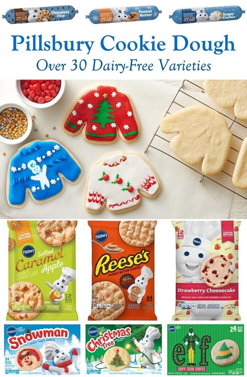Pillsbury Cookie Dough Recipes Christmas : pillsbury, cookie, dough, recipes, christmas, Pillsbury, Cookie, Dough, Dairy-Free, Varieties, (Reviews, Info)