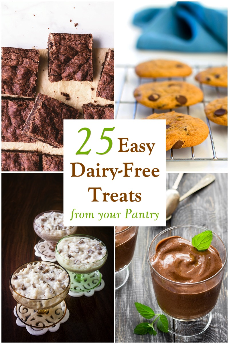 Dairy Free Desserts Ideas : dairy, desserts, ideas, Dairy-Free, Treat, Recipes, Pantry