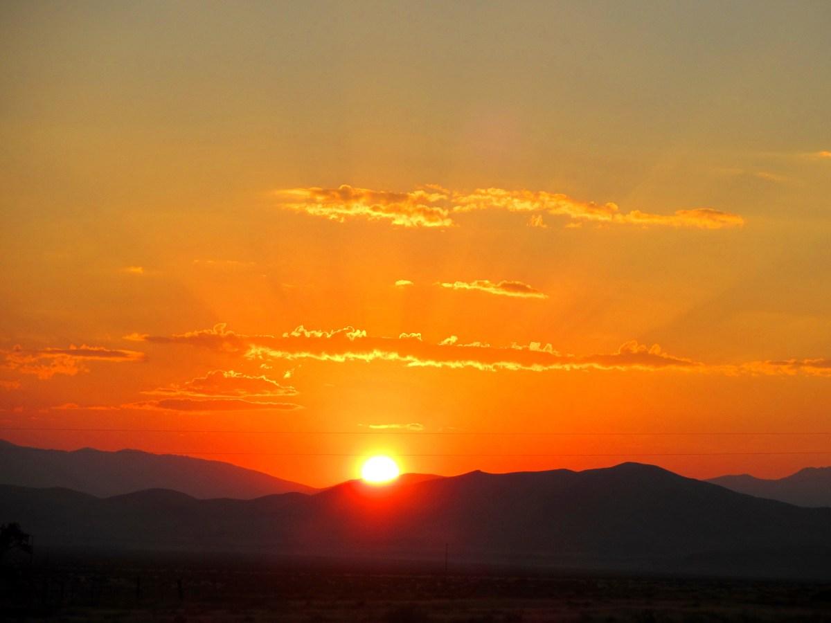 Nevada Desert Sunrises Where God Takes Me