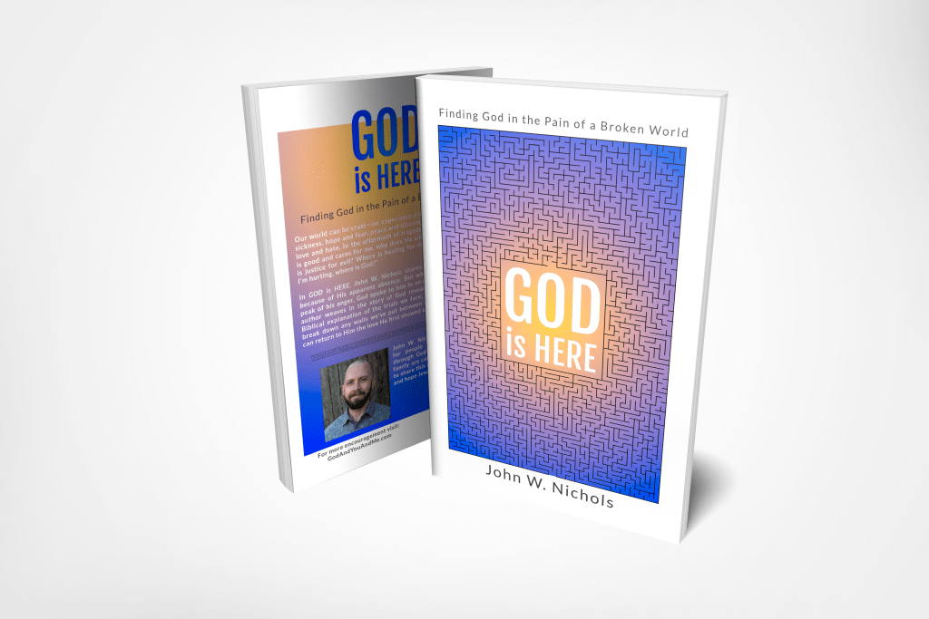GOD is HERE book available on Amazon!