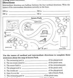 8th Grade Map Skills Worksheets   Printable Worksheets and Activities for  Teachers [ 1442 x 1192 Pixel ]