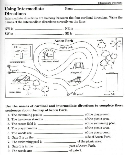 small resolution of 8th Grade Map Skills Worksheets   Printable Worksheets and Activities for  Teachers