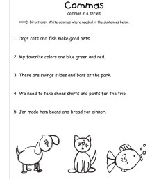 Periods And Capitalization Worksheets   Printable Worksheets and Activities  for Teachers [ 1584 x 1224 Pixel ]