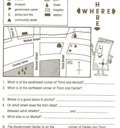 Social Stu S First Grade Worksheets   Printable Worksheets and Activities  for Teachers [ 2096 x 1603 Pixel ]