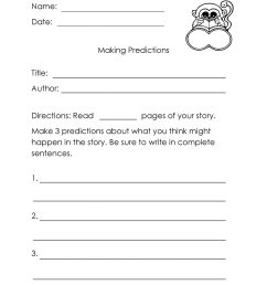 Prediction 2nd Grade Reading Worksheets   Printable Worksheets and  Activities for Teachers [ 2560 x 1978 Pixel ]