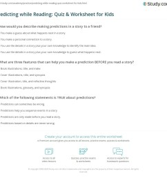 Prediction Worksheet Second Grade   Printable Worksheets and Activities for  Teachers [ 1121 x 1140 Pixel ]