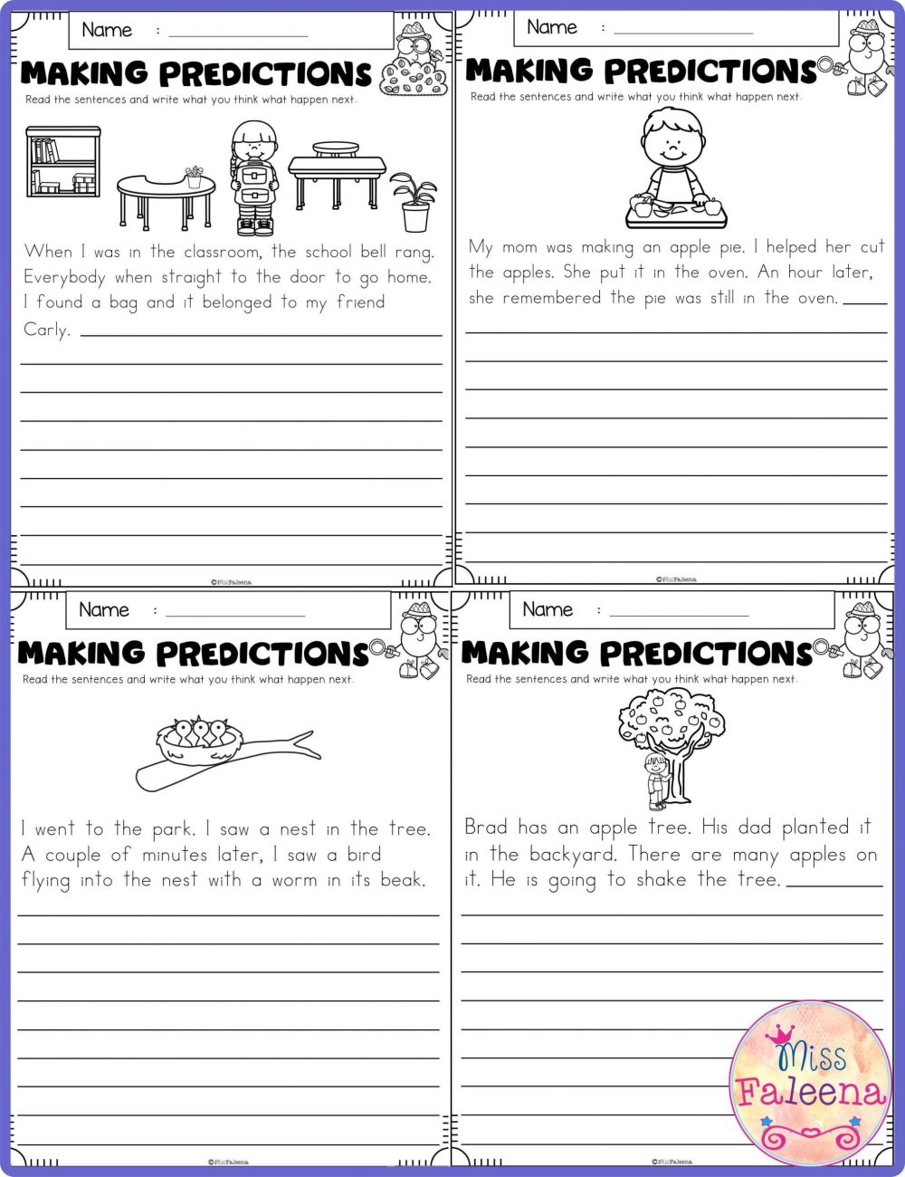 medium resolution of Science Making Predictions Worksheet   Printable Worksheets and Activities  for Teachers