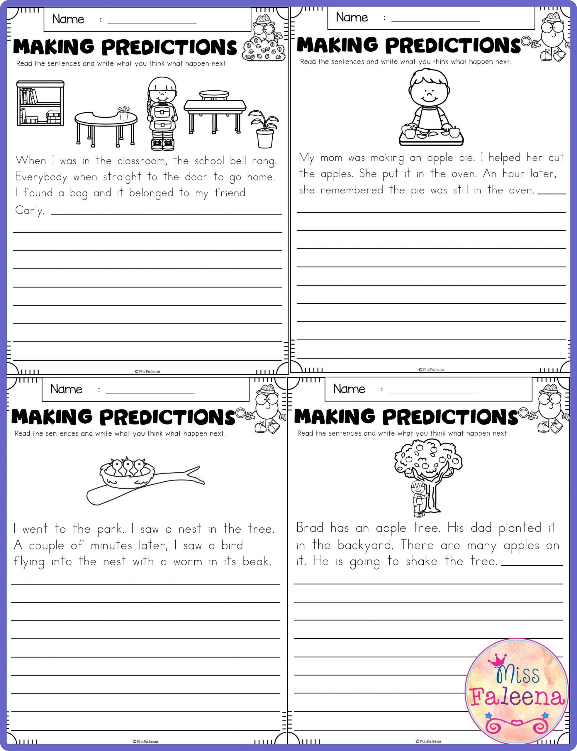 hight resolution of Science Making Predictions Worksheet   Printable Worksheets and Activities  for Teachers