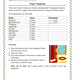 Free Perimeter Worksheets For 3rd Grade   Printable Worksheets and  Activities for Teachers [ 1651 x 1275 Pixel ]