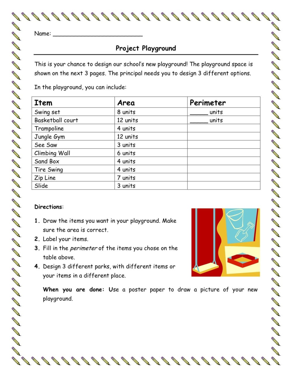 medium resolution of Free Perimeter Worksheets For 3rd Grade   Printable Worksheets and  Activities for Teachers