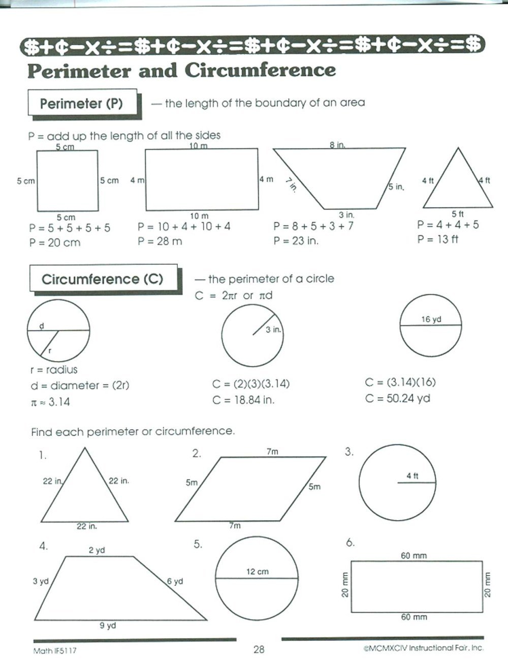 medium resolution of Perimeter And Area Worksheets 6th Grade Tests   Printable Worksheets and  Activities for Teachers