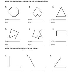 Polygon Worksheet 5th Grade Review   Printable Worksheets and Activities  for Teachers [ 2560 x 1978 Pixel ]