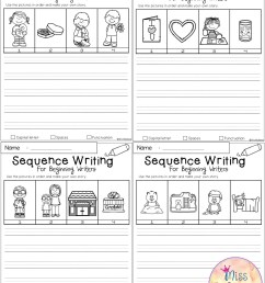 Sequence Sentences Worksheet   Printable Worksheets and Activities for  Teachers [ 2560 x 1980 Pixel ]
