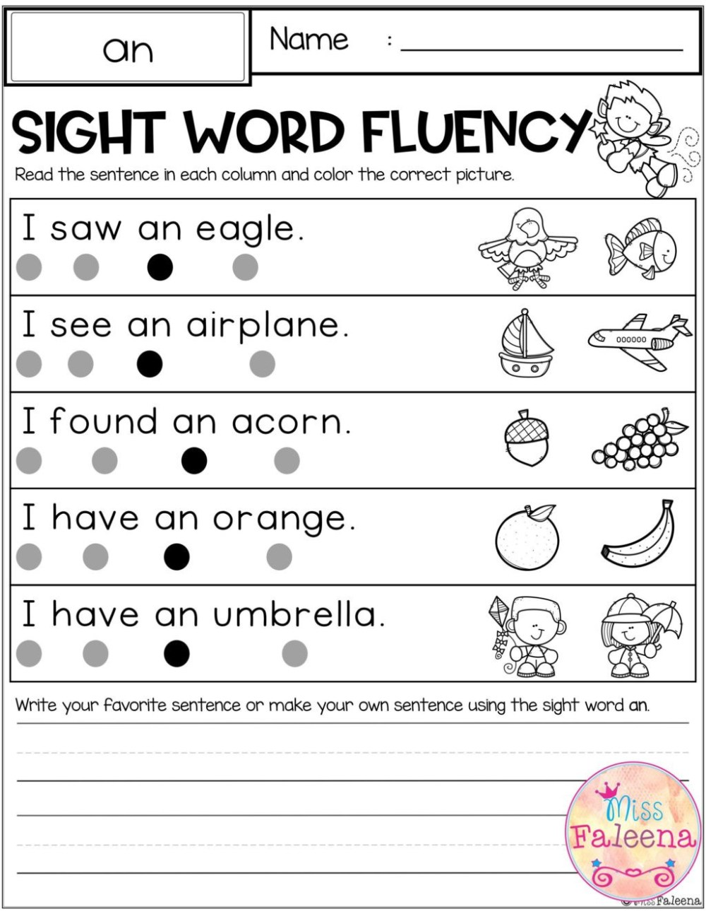 medium resolution of 1st Grade Sentence Correction Worksheets   Printable Worksheets and  Activities for Teachers