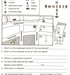 5th Grade Geography Worksheets   Educational Template Design [ 2096 x 1603 Pixel ]