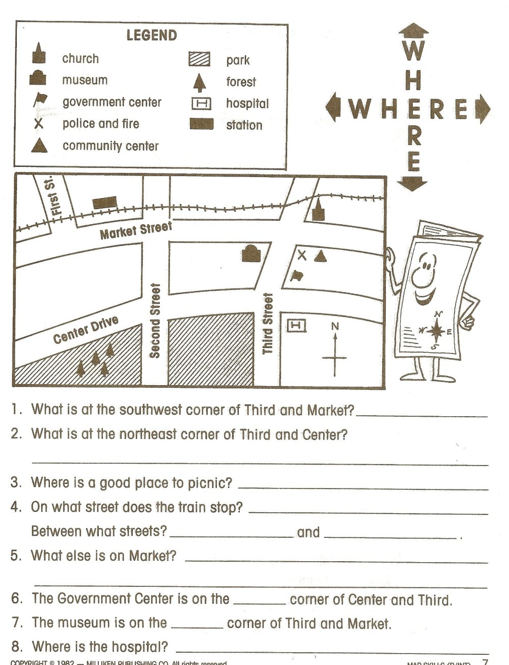 medium resolution of 5th Grade Geography Worksheets   Educational Template Design