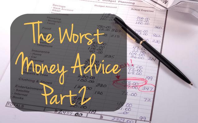 The Worst Money Advice Part 2 GoDay.ca