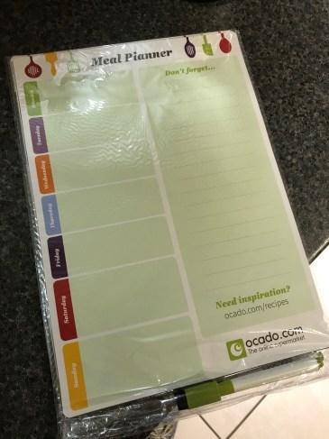 Ocado Free Meal Planner