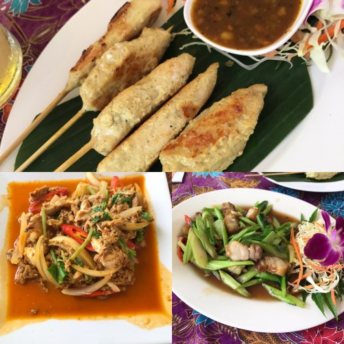 Bophut, Koh Samui, Godberstravel, Godberboys, kim England, Koh Samui with Kids, Top Ten Tips for a hassle free stay in Paradise, Thailand 2017, Thailand 2018, chaweng, thai food, curry crab, kale and crispy pork