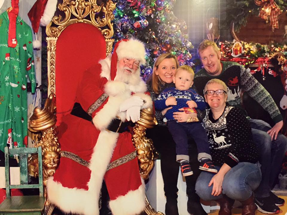 godberstravel, surviving Christmas with young children. santa visit, Frosts Woburn