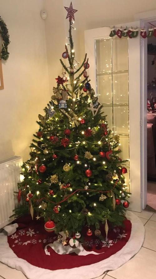 Christmas Tree, godberstravel, surviving Christmas with young children,
