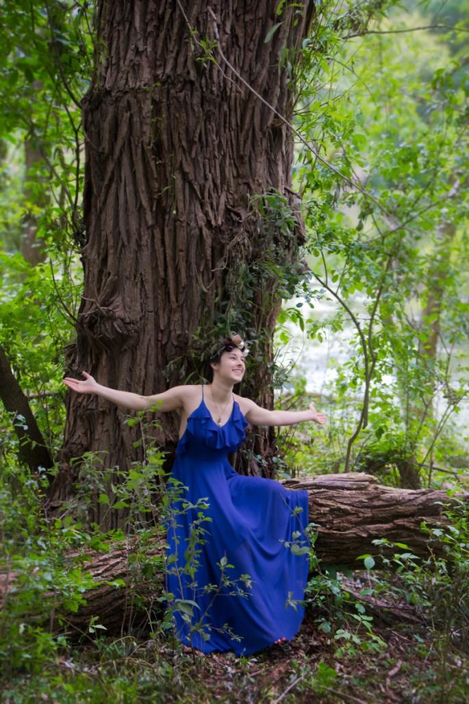 Mary-Catherine-celebrating-tree