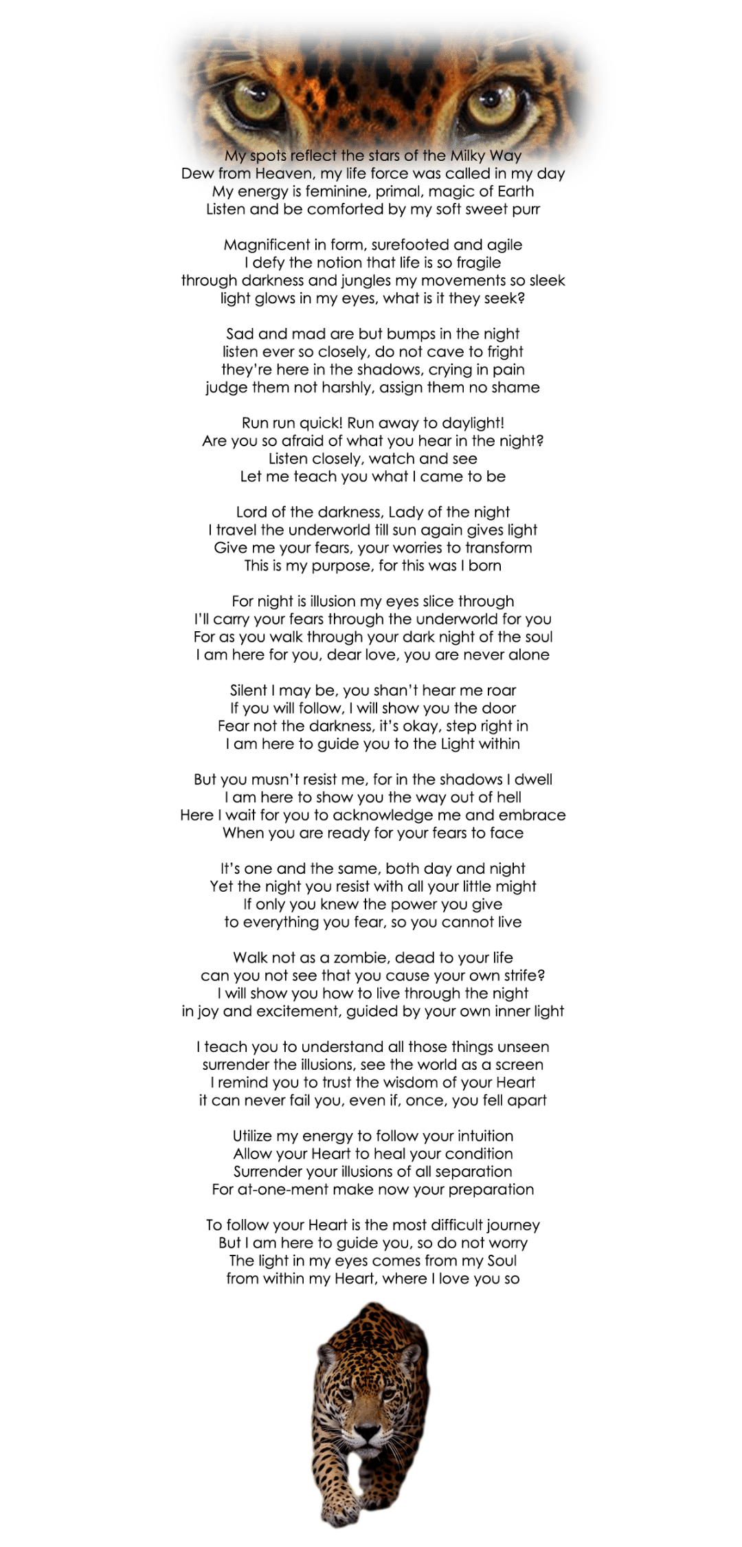 jaguar poem by patricia reed clear2