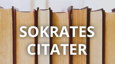 Photo of Sokrates citater