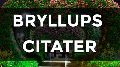 Photo of Bryllups citater