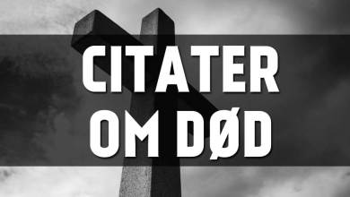 Photo of Citater om død