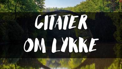 Photo of Citater om lykke
