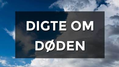 Photo of Digte om død