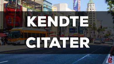 Photo of Kendte citater