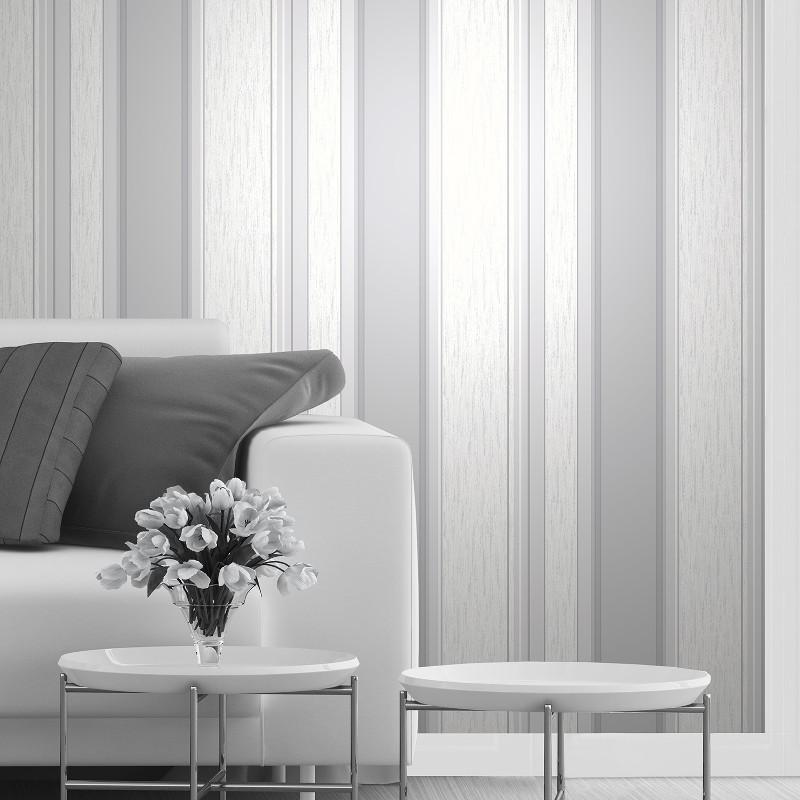 Vymura Synergy Glitter Stripe Wallpaper