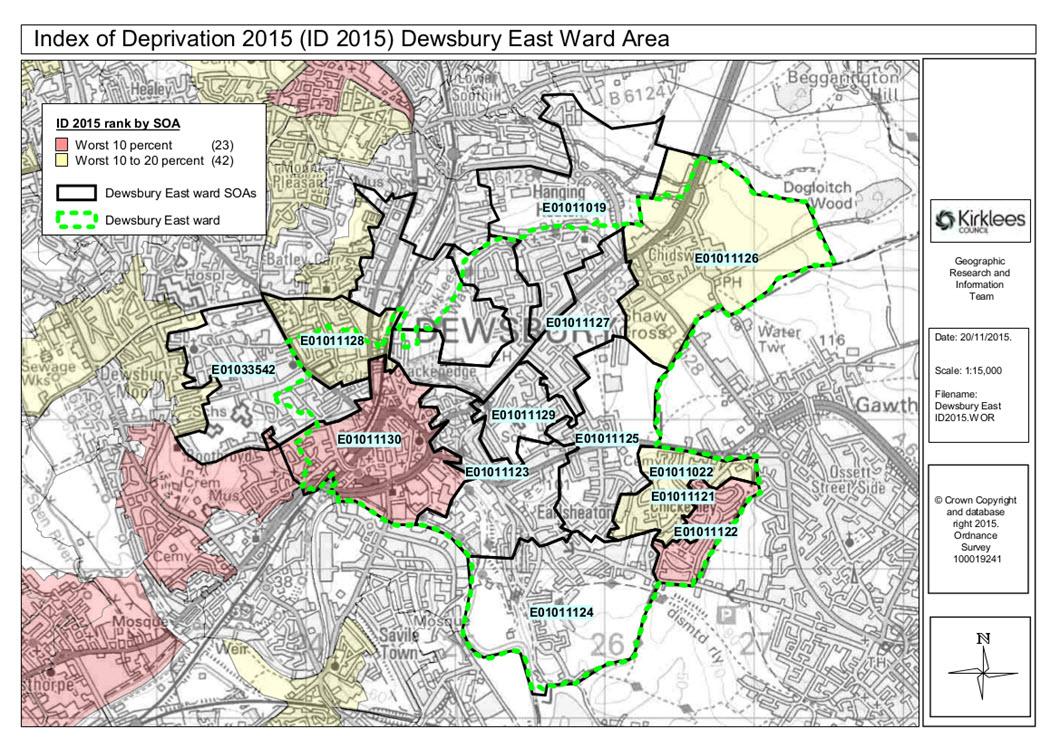Reason For Concern in Dewsbury Go Dewsbury