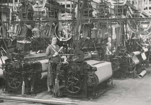 Yorkshire woollen mill
