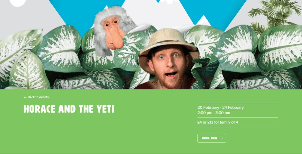 poster for Horace and the Yeti