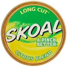 skoal long cut citrus