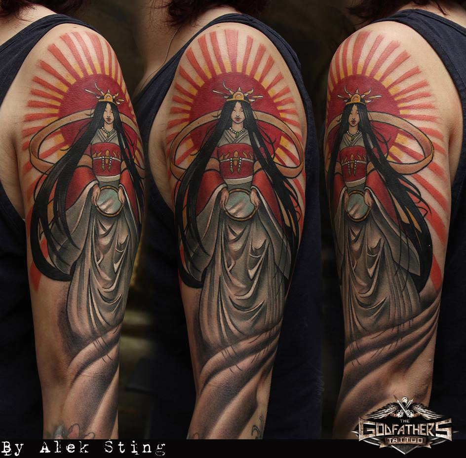 Japanese  Asiatic  Gallery of our tattoos in Japanese