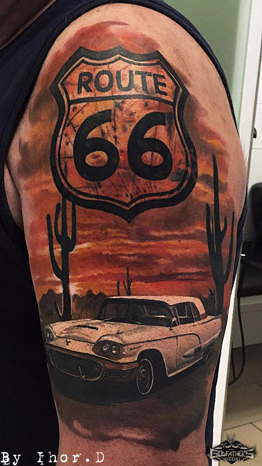 Color  Galerie unserer Ttowierungen in Color  Godfathers Tattoo